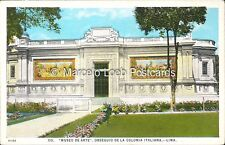 PERU LIMA MUSEO DE ARTE OBSEQUIO DE LA COLONIA ITALIANA 110 61102