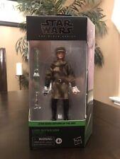 Star Wars Black Series 6 inch Luke Skywalker Jedi Knight Endor  ROTJ CASE FRESH.