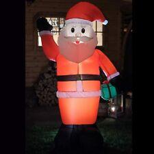 Aufblasbarer Weihnachtsmann 180 cm figur lebensgroß weihnachten außen beleuchtet