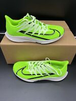 Men's NIKE Zoom Fly Rival Running Shoes Size 11 CD7288-300 Electric Green Black