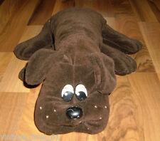 "18"" BIG VINTAGE POUND PUPPY PUPPIES 1985 STUFFED PLUSH DOG TONKA DARK BROWN RARE"