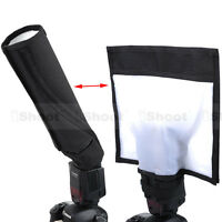 New Foldable Reflector/Reflective Speedlite Snoot/Closed Flash Softbox Diffuser