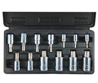 ATD 13pc Ribe Polydrive Bit Socket Set, Lifetime Warranty! #13780