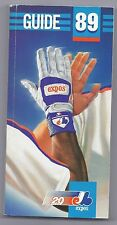 1989 Montreal Expos media guide