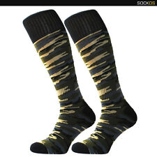 Camoflage / Army sports socks - for football, rugby fancy dress, crossfit socks