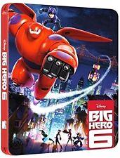 BIG HERO 6 - STEELBOOK EDITION (BLU-RAY) ANIMAZIONE DIGITALE WALT DISNEY