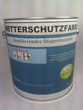 (10,99€/L.) Wetterschutzfarbe Holzfarbe Farbe RAL 7016 Anthrazitgrau  1 Liter