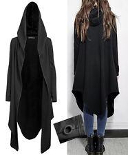 Veste gilet sweat hoodie asymétrique capuche gothique punk fashion swag Punkrave