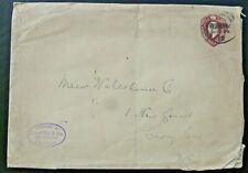 Postal Stationery 11/2d brown (three halfpence) cover, London 1912