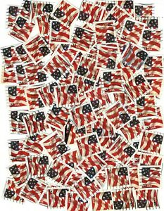 100 US Flag Coil Stamp SCOTT# 3632A (used)