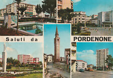 Cartolina postale viaggiata nel 1979 SALUTI DA PORDENONE - FRIULI VENEZIA GIULIA