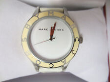 MARC JACOBS MBM1099 WOMENS LADIES WATCH WRIST WHITE DIAL LEATHER STRAP CUTE