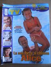 TV Sorrisi e Canzoni n°32 2002 Marilyn Monroe Amadeus Morandi   [D54]