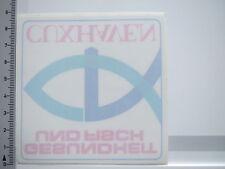Aufkleber Sticker von INNEN Cuxhaven - Fischgesundheit (S1311)