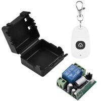 12V Relay 1CH Wireless RF Remote Control Switch Transmitter Receiver 315/433MHz