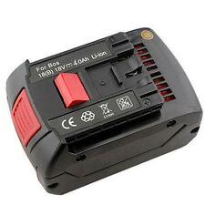 18V 4000mAh battery for Bosch  3601H61S10 25618 26618 37618 CFL180 DDS180 18Volt