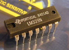 25x LM339N Quad Differential Analog Comparator, Texas Instruments