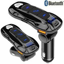 Wireless Bluetooth 5.0 FM Transmitter Car Dual USB Charger MP3 Player Handsfree