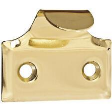 "5 Pk Steel Brass Finish 1 1/2"" Long Window Sash Handle Grab Lift 2/Pk N115691"