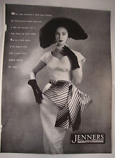 Full Page 1953 Vintage Fashion Magazine Advert JENNERS Edinburgh/ BALLY Shoes