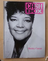 1992 CASHBOX MUSIC MAGAZINE FEATURING SHIRLEY CAESAR
