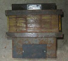 Dresser Elec. Inc, Step-down Transformer, 230 to 60 Vac, 3Kva, 1P