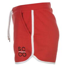 SoulCal Womens Deluxe Shorts Pockets Size 12 Red UK FREEPOST