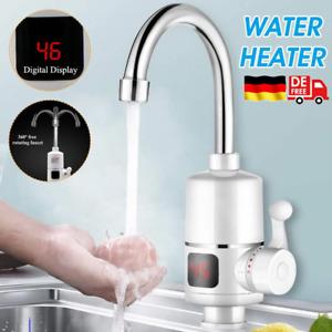 Digital Display Sofortiger Heizung Wasserhahn Elektrisch Durchlauferhitzer 3000W