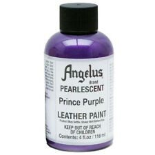 C--453 Angelus Pearlescent Acrylic Leather Paint Prince Purple 4 Oz.