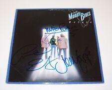 THE MOODY BLUES BAND SIGNED 'OCTAVE' VINYL ALBUM RECORD w/COA PROOF x4 HAYWARD