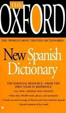 The Oxford New Spanish Dictionary : The World's Most Trusted Dictionaries (1999…