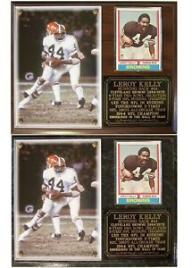 Leroy Kelly #44 Cleveland Browns Photo Card Plaque