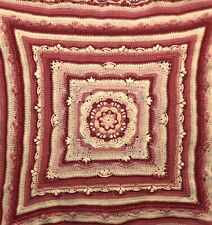 Throw blanket Crochet Handmade 120cm x120cm