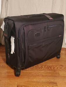 NWT TUMI Alpha 3 Medium Trip 4 Wheeled Garment Bag Black $ 1100