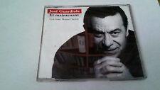 """JOSE GUARDIOLA & JOAN MANUEL SERRAT """"ET MAINTENANT"""" CD SINGLE 3 TRACKS"""