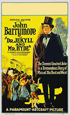 Dr. Jekyll & Mr Hyde Horrorfilm VINTAGE MOVIE KINO POSTER PRINT PICTURE a3