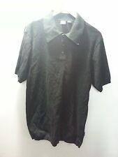 HUGO BOSS Black Short Sleeve Collar Shirt - Sz XL