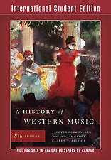 A History of Western Music Claude Palisca