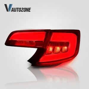 Tail Lamp For Toyota Camry 2012-2014 Red Lens Replacement 4pcs Tail Lights Set