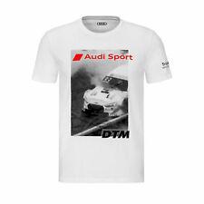 Original Audi Sport Shirt DTM, Herren, weiß,S,M,L,XL,XXL 3132002302-6