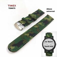 Timex repuesto Pulsera t2n675 Camper Originals - 20mm-band-universal LW