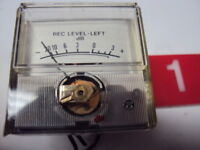 Panasonic SE 4608 Original Record Level Meter Left. Tested. Parting Out SE 4608.