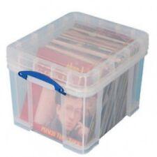 Contenitore di plastica Really Useful per circa 100 Lp - Art.18235XL