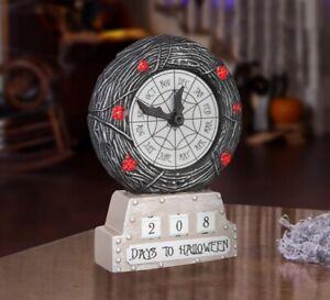 Disney's Nightmare Before Christmas Countdown Clock Halloween Jack Skellington