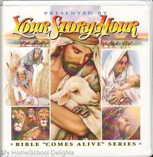 New YOUR STORY HOUR BIBLE COMES ALIVE #1 12 CD Audio SET Old Testament Stories