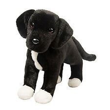 Douglas Toys Twister Black Lab / Pitbull Mix Plush Dog, 17""