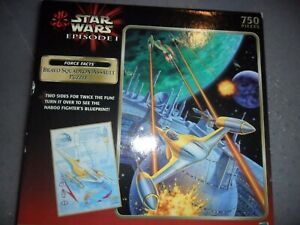 Star Wars Episode 1 BRAVO SQUADRON ASSAULT PUZZLE - Two Sided, 750 Pieces