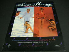 ANNE MURRAY Where Do You Go When You Dream - Heaven or Hell 1981 PROMO POSTER AD