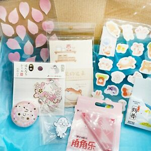 Kawaii Stationery Box,Japanese Stickers & Tape From Japan & Japanese themed item