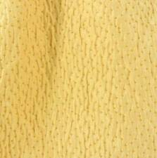 Drapery Upholstery Fabric Micro Chenille Dots on Puckered Background - Butter